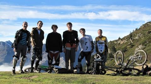 Col de Riou, le crew