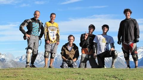 Col de Riou, le team